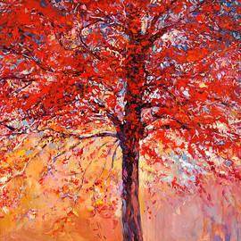 Boyan Dimitrov - Autumn tree by Ivailo Nikolov