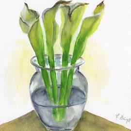 Frank Bright - 4 Calla Lilies