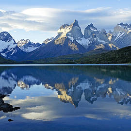 Michele Burgess - Patagonia Reflection