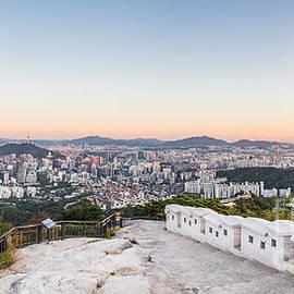 Didier Marti - Sunset over Seoul