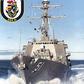 USS ARLEIGH BURKE - Baltzgar