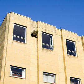 Yellow building - Tom Gowanlock