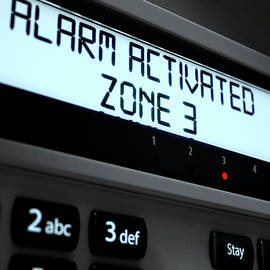 Alarm Panel Activated - Allan Swart