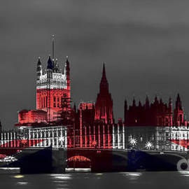 Sebastien Coell - London cityscape with big ben