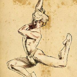 Male Dancer - H James Hoff