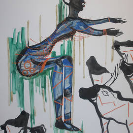 Gloria Ssali - Dinka Dance - South Sudan