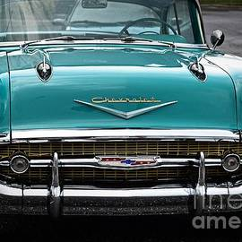 JW Hanley - 57 Chevy Bell Air Turquoise