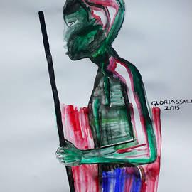 Gloria Ssali - Nuer Dance -  South Sudan