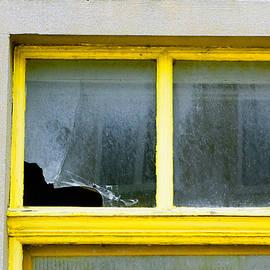 Broken window - Tom Gowanlock