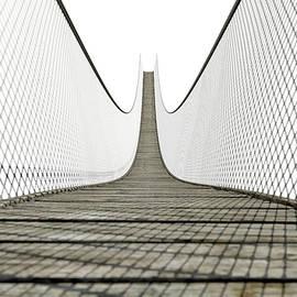Allan Swart - Rope Bridge On White
