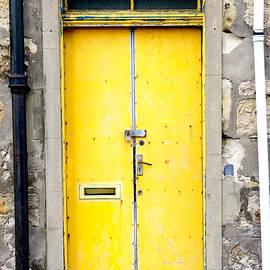Yellow door - Tom Gowanlock