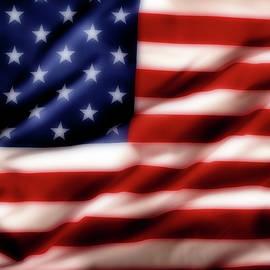 USA flag - Les Cunliffe