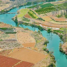 Carl Ning - Rice fields scenery in autumn