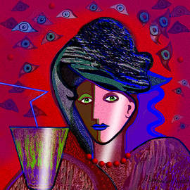 Irmgard Schoendorf Welch - 766 - Lady with  Green Drink ...