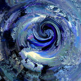 Abstract Alien Artist Stephen K - 7D Galaxy of Thoughts