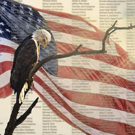 Shirley Tinkham - 9/11 Eagle Bow