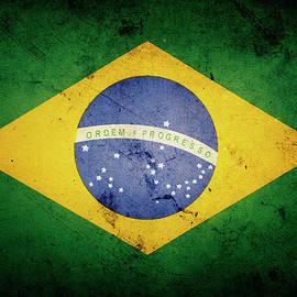 Brazilian flag  - Les Cunliffe