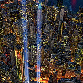 Susan Candelario - 911 NYC Tribute In Light