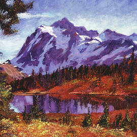 David Lloyd Glover - Autumn Mountains Colors