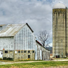 William Sturgell - A Barn, A Silo and A Corn Crib