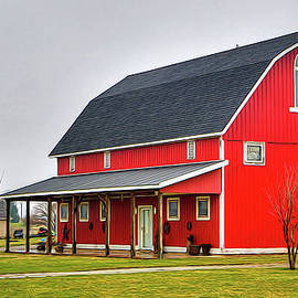 William Sturgell - A Barn and a Home