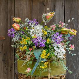 Guy Whiteley - A Basket of Petals