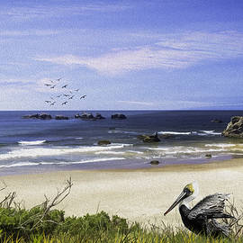 Diane Schuster - A Beautiful Day At Face Rock At Coastal Oregon