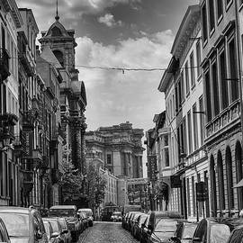 Georgia Fowler - A Belgian Street in Brussels
