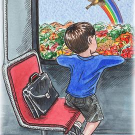 Irina Sztukowski - A Boy On The Bus