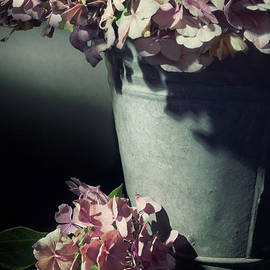 Ann Garrett - A Bucket of Hydrangeas