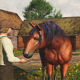 Jayne Wilson - A Farmer and His Horse