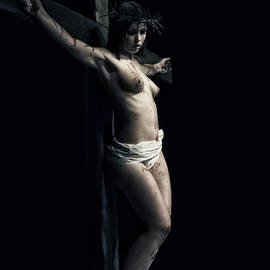 Ramon Martinez - A female Crucifix