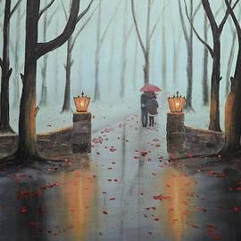 Ken Figurski - A Foggy Autumn Evening