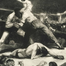 A Knock-Out - George Bellows