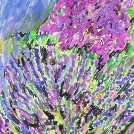 Esther Newman-Cohen - A Lavender Floral
