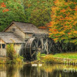 Darren Fisher - A Mabry Mill Autumn
