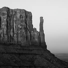 Gregory Ballos - A Monument of Stone Black and White