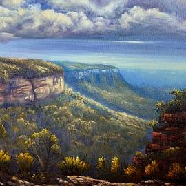 Christopher Vidal - A moody afternoon at Nellies Glen Lookout