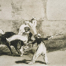 Francisco Goya  - A Moor Caught by the Bull