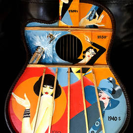 Victor Minca - A Painted Guitar