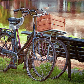 Joan Carroll - A Pair of Bikes in Amsterdam