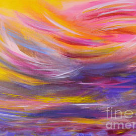 Robyn King - A Peaceful Heart - Abstract Painting