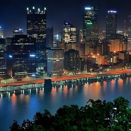Frozen in Time Fine Art Photography - A Photographic Pittsburgh Night