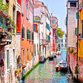 Olivia  Bonham - A Pleasant Neighborhood In Venice