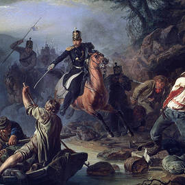 A skirmish with smugglers - Vasily Grigorievich Khudyakov