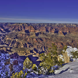 Harry B Brown - A Snowy Grand Canyon