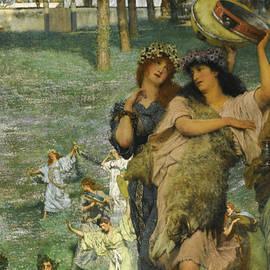 A Spring Festival - Lawrence Alma-Tadema
