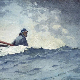 A Swell of the Ocean - Winslow Homer