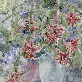 Kim Tran - A Vase of Lilies