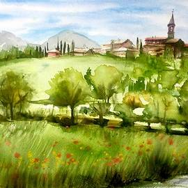 Katerina Kovatcheva - A view from Tuscany